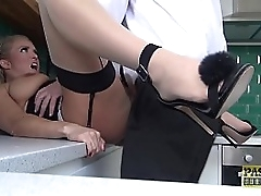 Assfucked UK wench becoming..