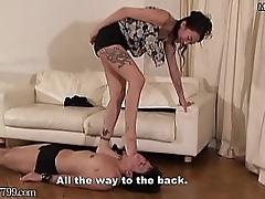 Dominatrix Sara Foot Fetish